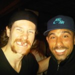 Billy and Duncan Keith, captain of the Blackhawks