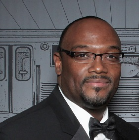 Carlyle Robinson, manager of the Hard Rock Hotel Chicago and looking for a donor match