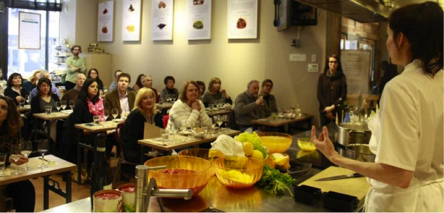 chef class at eataly