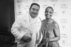 Rochelle and Emeril